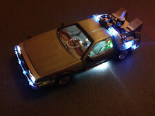 DeLorean Ultimate Edition BACK TO THE FUTURE BTTF Hot Wheels Elite BLY44 1:18