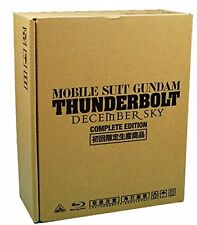 Mobile Suit Gundam Thunderbolt DECEMBER SKY Blu-ray COMPLETE EDITION F/S wTrack#