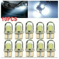10x T10 194 168 W5W CREE 8SMD LED CANBUS Silica Bright White License Light Bulb