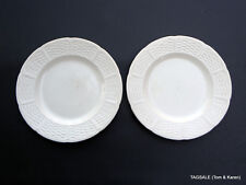 """2 pieces ~ WEDGWOOD china WILLOW WEAVE pattern ~ SALAD PLATES ~ 8"""""""