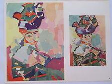 Josef Albers Original Silkscreen Folder XIX-1/Left Interaction of Color 1963