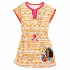 Disney Store Moana & Pua Princess Swim Cover Up UPF 50 -  Girls Size 3T