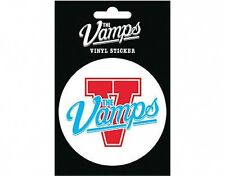 VAMPS logo 2014 circular VINYL STICKER official licensed merchandise