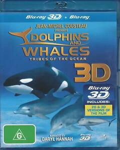 DOLPHINS AND WHALES – TRIBES OF THE OCEAN (2008) 3D & 2D Blu-ray