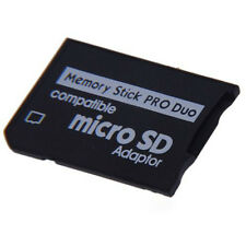 Micro SD SDHC TF to Memory Stick MS Pro Duo PSP Adapter Converter Card Cool