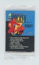 1994-95 Pinnacle HOCKEY SERIES 1 Factory Sealed promo Pack