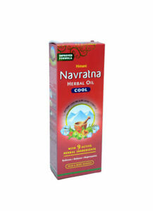 Himani Navratna Oil With 9 Natural Herbal oil ( Hair Oil ) UK Seller  200ML