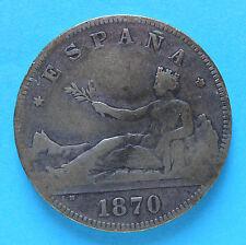 M) Spagna 2 Pesetas 1870