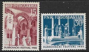 Yugoslavia 1955 Dubrovnik theatre culture festival -a