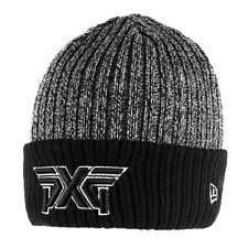 PXG SILVER LINING KNITTED GOLF BEANIE HAT / MERINO WOOL / FLEECE LINED BEANIE