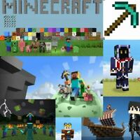 Minecraft Full Drill DIY 5D Diamond Painting Mosaic Art Decor Cross Stitch Kits