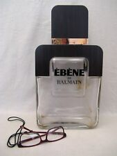 """Flacon de parfum factice géant de Balmain """" ébène """" en verre 37,5 cm"""