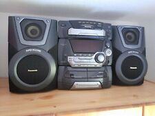 Panasonic Musikkompaktanlage SA-KA-25 5-fach CD Wechsler, 2-fach Kassettendeck