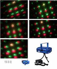 6 in 1 LED Laser Bühnenlicht Disco Party Lichteffekt Licht Lampe Projektor GX6Q