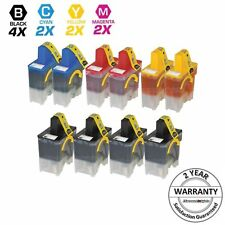 10PK Black & Color Ink Cartridge Set for Brother LC-41 LC41 MFC-210C MFC-3240C