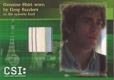 CSI Series 3 - C1 Greg Sanders Costume Card