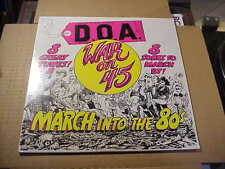 LP:  D.O.A. - War On 45   SEALED NEW REISSUE PUNK DOA