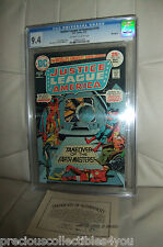 Cgc 9.4 Nm Justice League Of America # 118 White Pages Mile High Ii Ow/W Pages