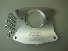 Transmission adapter, Tremec TKO to wide pattern Ford bellhousing