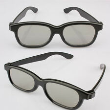 New Polarised 3D Glasses Digital Circular Polarized Passive TV Theater Cinema