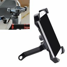 Motorcycle 360° Rearview Mirror Holder Mount Bracket For Phone GPS Universal