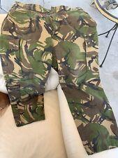 Holland/dutch Military DPM Camo Pants Sz Adjustable 1992
