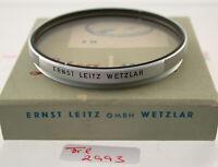 Original Leica Leitz UV-A Objektiv Filter Lens E58 58Ø 58mm Germany 2993/9