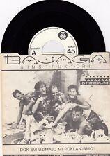 "BAJAGA BEATLES ALL YOU NEED IS LOVE RARE PROMO 1986 RECORD YUGOSLAVIA 7"" PS"