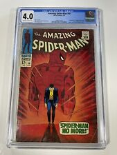 Amazing Spider-Man 50 CGC 4.0 1st Appearance App Of The Kingpin (Sinister Six)