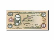 Jamaica 5 Dollars 1-8-1992 Pick 70.d UNC Uncirculated Banknote