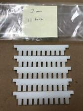 Electrophoresis Comb 2mm 10 tooth LOT OF FIVE