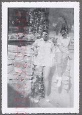 Unusual Vintage Photo Women in Double Exposure Mistake 707558