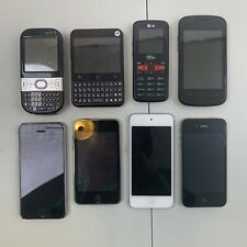 Lot of 8; Phones + Ipods [Sold For Parts]