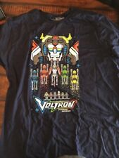 LOOT CRATE GAMING EXCLUSIVE T-SHIRT Mens 2XL XXL Voltron Legendary Defender 8Bit