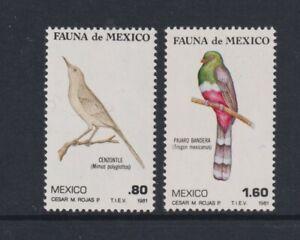 Mexico - 1981, Mexican Fauna, Birds, 3rd series set - MNH - SG 1591/2