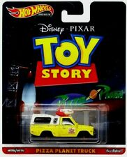 🔥🔥Hot Wheels Premium TOY STORY PIZZA PLANET TRUCK Disney PIXAR Riders DMC55
