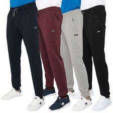 Slazenger Mens Slim Jogger Pants Pull Cord Cuffed Brand Active Tracksuit Bottoms