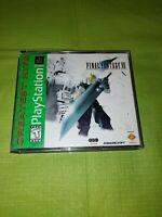 Final Fantasy VII 7 Greatest Hits (Sony PlayStation 1, 2000)