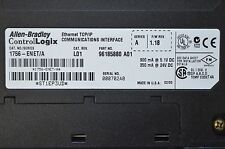 Allen Bradley 1756-ENET Ethernet TCP/IP Comm. Interface Series A  Firmware 1.18