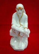 Shirdi Sai Baba Ji Statue 7 Inches height  Polyresin USA Seller fast shipping