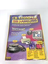 Cd Stomper Pro Cd Labelling System Design Print Apply Cd Jewel Case Inserts