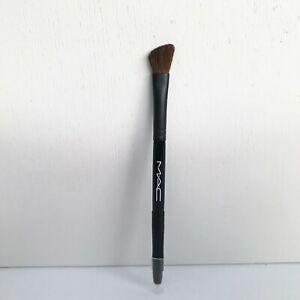 MAC Double Ended Angled Shading Brush / Eyeliner Brush, Travel Size, Brand New!