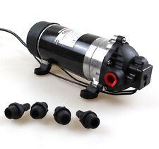 New 12VDC 160PSI High Pressure Misting Pump Booster Diaphragm Water Pump Sprayer