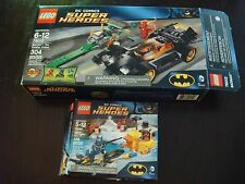 LEGO DC Comics Super Heroes - 76010/76012 - Batman, Riddler, Penguin COMPLETE