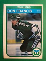 1982-83 O-Pee-Chee Hartford Whalers Rookie Card #123 Ron Francis RC - Seattle