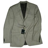 ROY ROBSON Herren Sakko Blazer Jacke Business Anzug edel Gr.48 L Braun Beige NEU