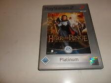 PlayStation 2  PS 2  Der Herr der Ringe: Die Rückkehr des Königs (Platinum) (1)