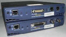 LOT OF (2) FLUKE NETWORKS OPTIVIEW T1/E1 & DS3/E3  WAN ANALYZERS