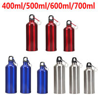 700ml Outdoor Portable Sport Cycling Camping Bicycle Aluminum Alloy Water Bottle