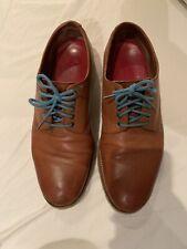 Grenson Mens Curt Shoes, Tan Colour, Derby, Size 8.5 Width G